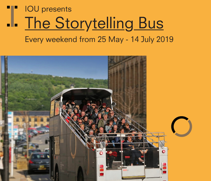 Storytelling Bus by IOU Theatre