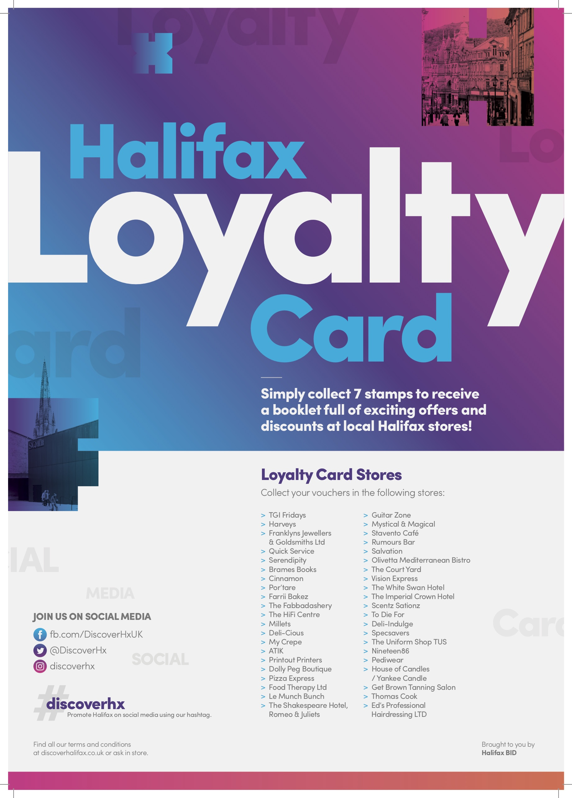 HxBid Loyalty Card