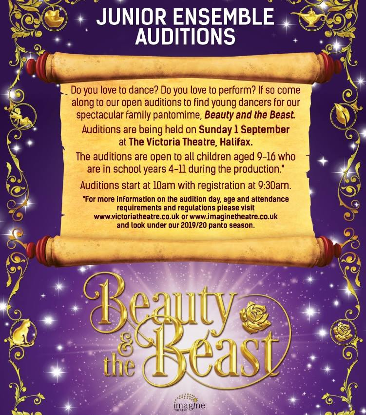 auditions at victoria theatre