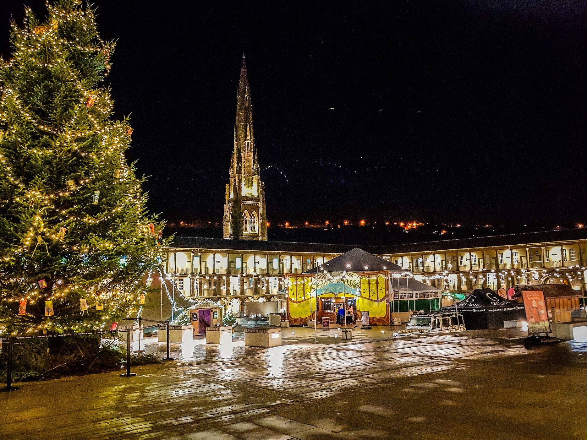 Christmas at The Piece Hall 2017 by MarkBoltonPhotography 2