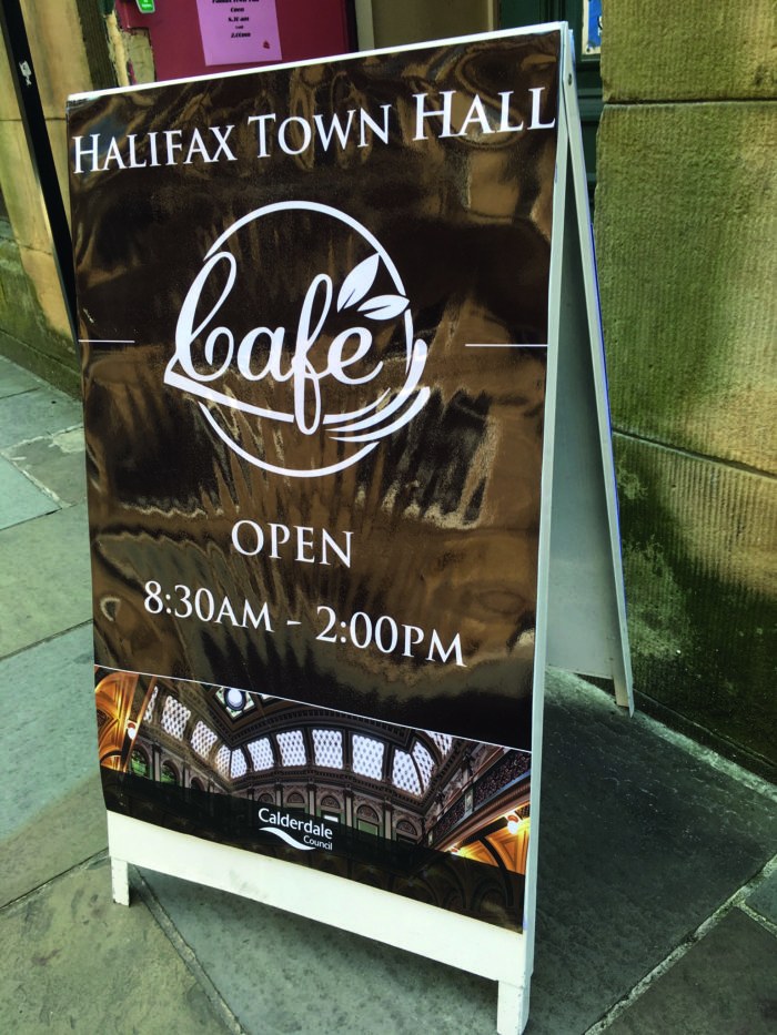 Halifax Town Hall Cafe