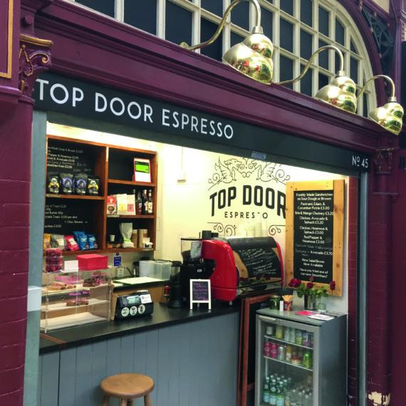 Top Door Espresso