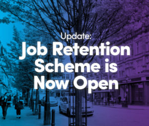 job retention scheme open