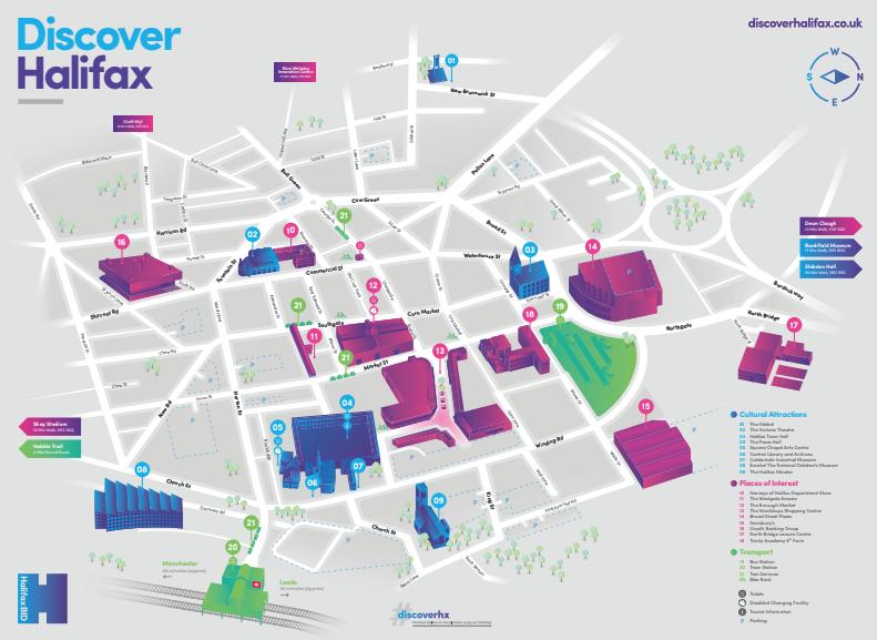 Halifax BID Map