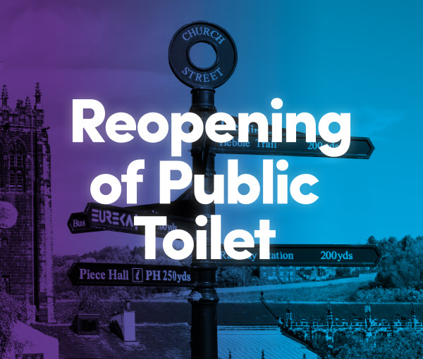 reopening of public toilets