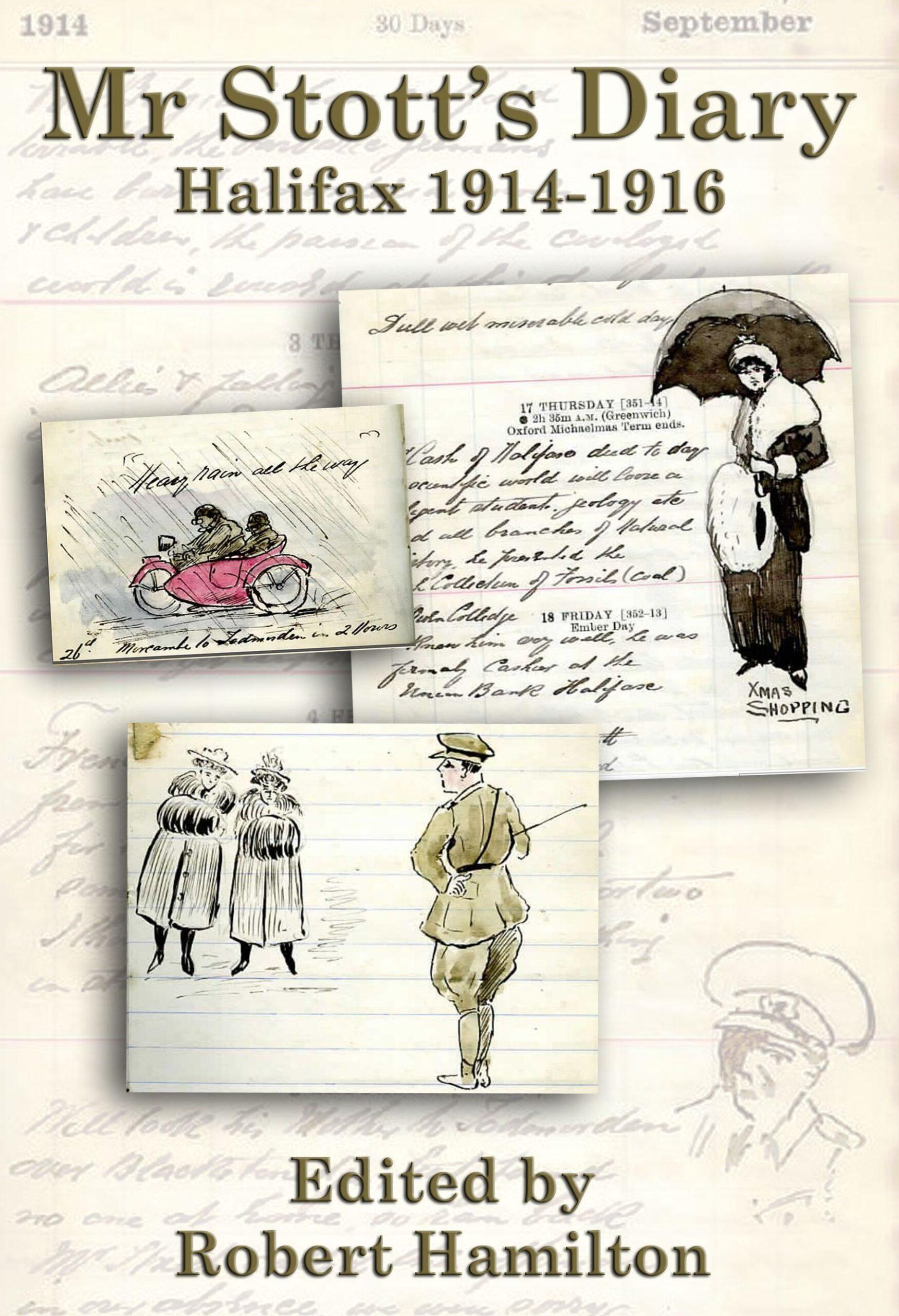 4 Stott Diary 1914 to 1916