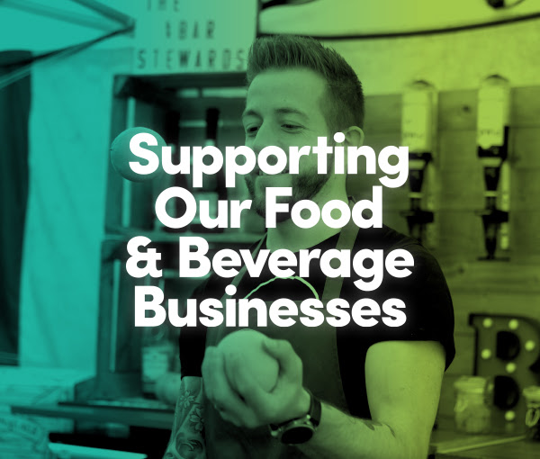 supporting food & beverage businesses