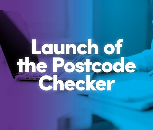 launch of the covid postcode checker