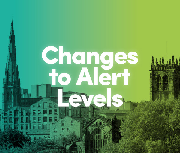 changes to alert levels
