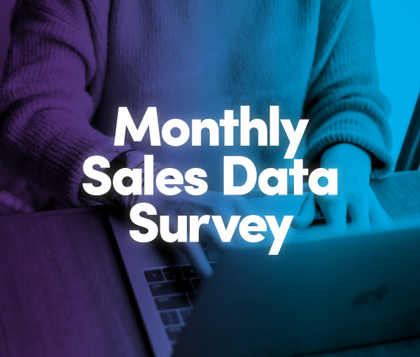 monthly sales data survey