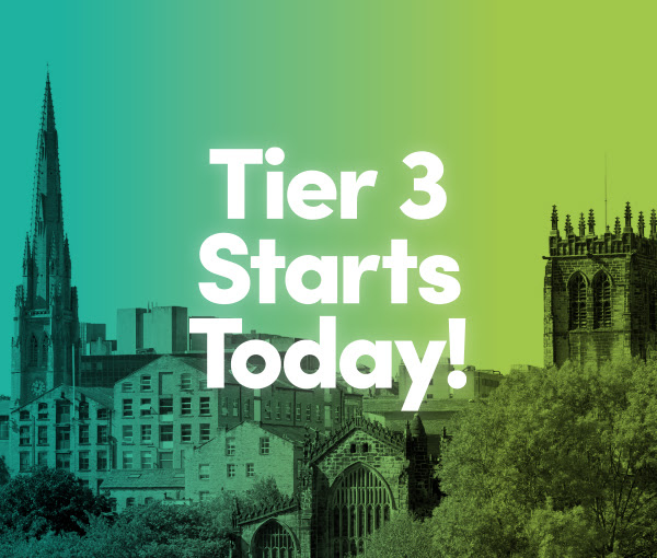 tier 3 starts today
