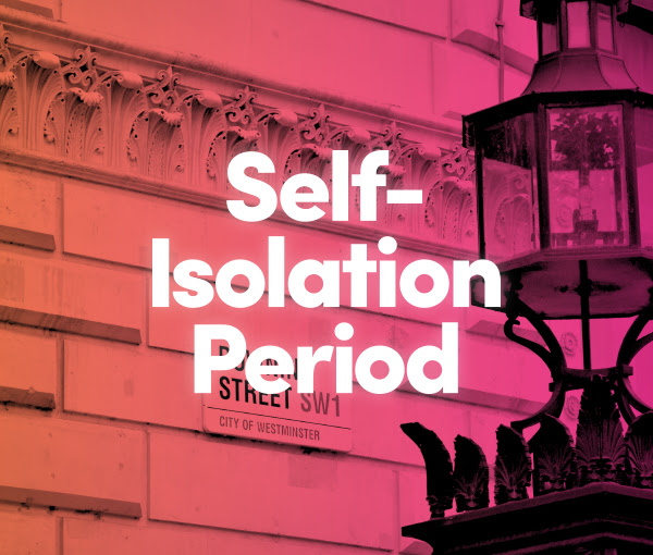 covid-19 changes to self isolation period